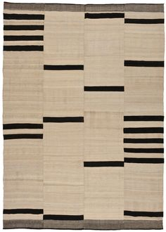 textile : patchwork, rayures, noir-blanc