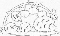 Kirigami, Stencils, Paper Art, Paper Crafts, Hedgehog Craft, Paper Cutting Patterns, Cut Animals, Nature Table, Autumn Activities