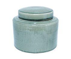 Pot Storo, groen, H 17 cm