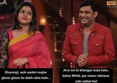 Kapil Sharma funny oneliners