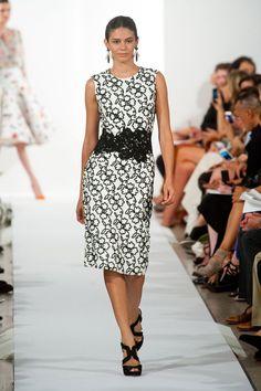 Oscar de la Renta Spring 2014 Runway Show | NY Fashion Week | POPSUGAR Fashion Photo 10