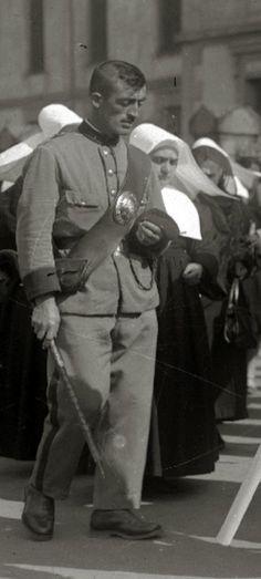 1929. Guardia Rural de Donostia-San Sebastián. Fictional Characters, Safety, Fantasy Characters