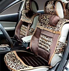 New Arrival Sexy High Quality Leapord Style Fashion Seat Covers