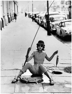 Vogue, 1961. Photo by Eugene Vernier. °