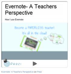 Prezi on Evernote