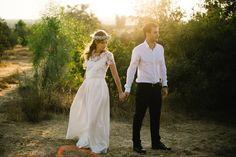 *** Rebecca & Amir *** C'est un mariage rempli d'amour au sud d'Israël que nos mariés partagent avec nous <3 Photographiés par We Are Red #mariée2015 #wedding #Elisehameau #love