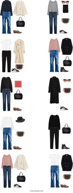 What to Pack for Oxford, UK Packing Light List Outfit Options 1-10 | What to pack for the United Kingdom | What to Pack for Oxford | Packing Light | Packing List | Travel Light | Travel Wardrobe | Travel Capsule | Capsule |