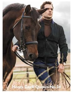 Henry Cavill ventures outdoors for his Men's Fitness shoot. You are in the right place about Equestrian Fashion shirts Here we offer you the most beautiful pictures about the Equestrian Fashion 2019 y Portraits, Hairy Chest, Equestrian Style, Equestrian Fashion, The Villain, Horse Riding, Beautiful Horses, Beautiful People, Beautiful Pictures