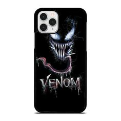 VENOM FACE MARVEL iPhone 11 Pro Case Cover  Vendor: Casesummer Type: iPhone 11 Pro Case Price: 14.90  This luxury VENOM FACE MARVEL iPhone 11 Pro Case Cover is going to secure your iPhone 11 Pro phone from every hit and scratches with impressive style. The strong material may give the excellent protection from crash to the back sides and corners of your Apple iPhone. We manufacture the phone cover from hard plastic or silicone rubber in black or white color. The frame profile is slim easy to… Venom Face, Iphone 11 Pro Case, Silicone Rubber, Phone Cover, Apple Iphone, Custom Design, Marvel, Plastic, Type