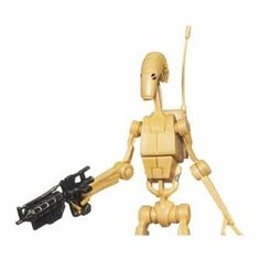 Battle Droid with cool gun.