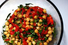 chickpea salad by smitten, via Flickr