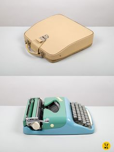The lovely ultra-portable Consul typewriter from the 1960s. From the east side of the Iron Curtain to you, with love!None