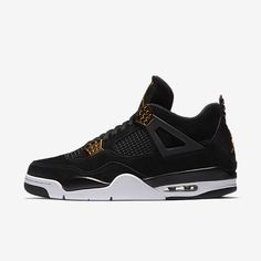 new product a215b d67a5 The Air Jordan 4 Royalty (Style Code  will release on February in a full  family size run featuring black suede and metallic gold accents.