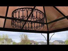 Diy Porch, Diy Patio, Backyard Patio, Solar Chandelier, Outdoor Chandelier, Chandeliers, Dollar Tree Decor, Dollar Tree Crafts, Diy Hanging Planter