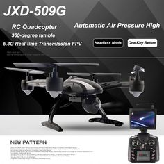 JXD 509G 5.8G 2.0MP Camera RC Quadcopter-89.39 and Free Shipping| GearBest.com