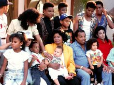 Michael Jackson was with familly