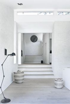 Norm Architects - White wash on brick