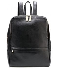 Leather Christmas Trees Black Backpack Daypack Bag Women