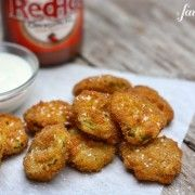 fried pickles - a farmgirl's dabbles