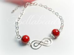 Flower Petal Jewelry, Memorial Jewelry made from Flower Petals, To Infinity and Beyond Bracelet
