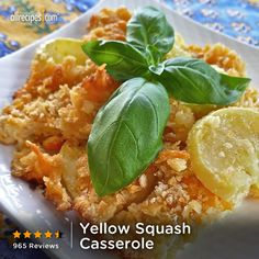"""""""Tender squash, gooey cheese, and crunchy crackers make this a memorable side dish. It can be made with low-fat ingredients and is still just as good!"""" —ROSECART 