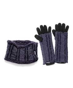 Love this Gray Sprinkled Headband & 3-in-1 Gloves on #zulily! #zulilyfinds
