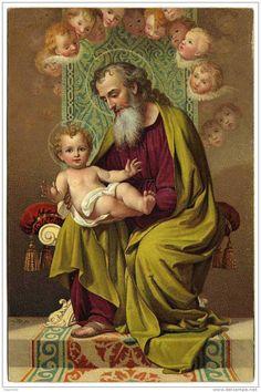 St. Joseph and the Christ Child with Cherubim