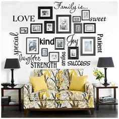 How to displaying picture frames on wall
