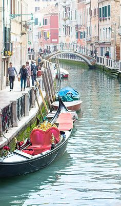 Venice, Venedig, Gondola