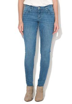 Jeansi skinny albastri - Esprit - www.iconly.ro