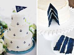 "Nautical ""Blue"" Cake"