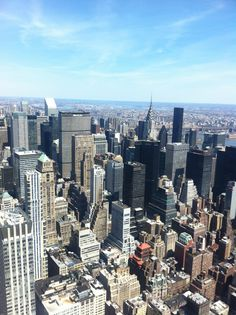 Empire state building view