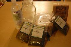 Monday Health & Wellness: How to Make a Glycerin Tincture | Modern Alternative Mama