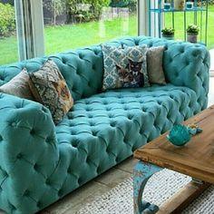 Chester kanepe - diy furniture for teens Sofa Design, Furniture Design, Home Living Room, Living Room Furniture, Living Room Designs, Home Design Decor, Home Interior Design, Living Room Turquoise, Living Room Decor Inspiration