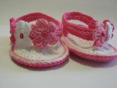 Gateando Crochet: Sandalias Crochet para Bebé