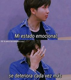 from the story ~Frases~ by thrxashxer (×Thrasher×) with 805 reads. Spectre Music, Sad Love, Im Sad, Jin, Bts Quotes, Foto Bts, Bts Memes, V Taehyung, Jonghyun