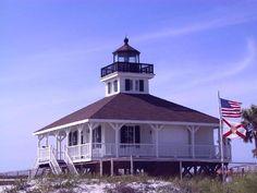 Historic Boca Grande lighthouse  Boca Grande, Gasparilla Island, Florida