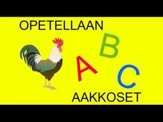 Aakkoset suomeksi - YouTube Learn To Read, Finland, Alphabet, Kindergarten, Education, Learning, Film, Youtube, Films