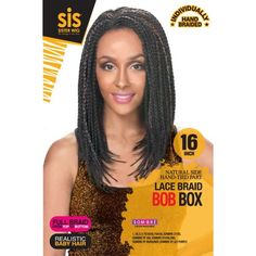 Zury Sis Lace Braid Bob Box