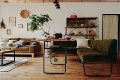 Muji Style, Corner Desk, Interior Design, Furniture, House Ideas, Decorating Ideas, Home Decor, Life, Houses