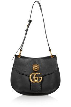 c9716e05532e Gucci Marmont textured-leather shoulder bag ( 1