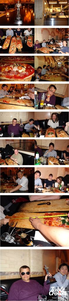 The Yard Of Pizza Vs The Man V Food Crowd. Take a look at our contenders. Great efforts by all :)