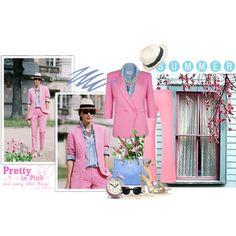 """Pink Champagne"" by elegancerules on Polyvore"