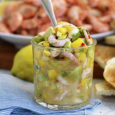 Mango, Ceviche, Sambal Oelek, Starters, Potato Salad, Chili, Vegetables, Ethnic Recipes, Cilantro