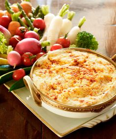 Baltimore fans will appreciate the fact that this crab recipe got the most repins on our board (at 147) but San Francisco fans can still appreciate its tastiness. Serve with warm pita, chips or veggies.  Get the recipe!   - GoodHousekeeping.com