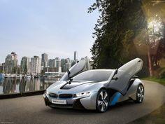 BMW i8 Concept, Super Car Plug-In Hybrid