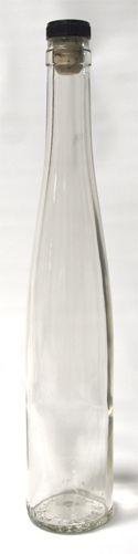375 ml Glass Bottle w/ Bar Cork - Sold in Cases ($15)