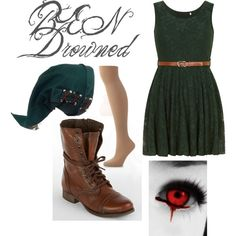 Creepypasta: BEN Drowned Inspired Outfit