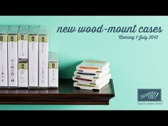 New wood-mount stamp set packaging - So going to LOVE these