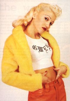gwen stefani...helped mold me into who I am today :-)  Love this ladybug